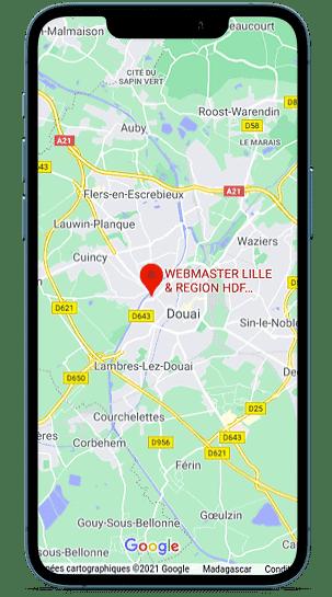 Concept site géolocalisation